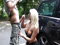 Fuckable sluts movies Outdoor blond exhib