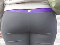 Fuckable sluts movies Candid whooty booty in yoga pant of NYC