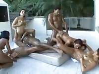 Fuckable sluts movies Brazilian pussy all over the house