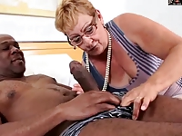Fuckable sluts movies HAIRY GRANNY IN GLASSES GETS BBC